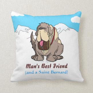El mejor amigo del hombre almohadas
