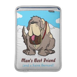 El mejor amigo del hombre funda macbook air