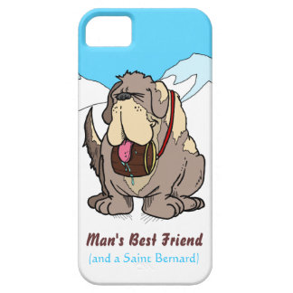 El mejor amigo del hombre iPhone 5 carcasa