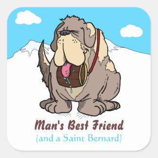 El mejor amigo del hombre etiqueta