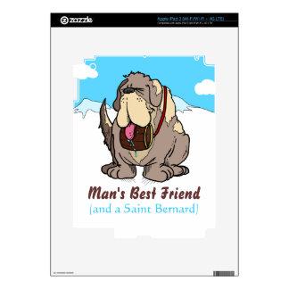El mejor amigo del hombre iPad 3 pegatina skin