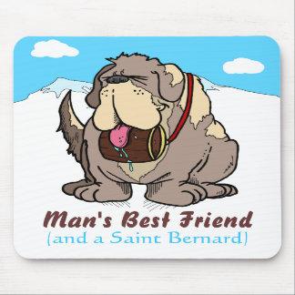 El mejor amigo del hombre tapetes de ratón