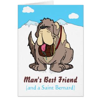 El mejor amigo del hombre tarjetas