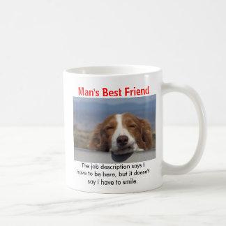 El mejor amigo del hombre taza