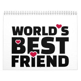 El mejor amigo del mundo calendario