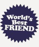 El mejor amigo del mundo camiseta