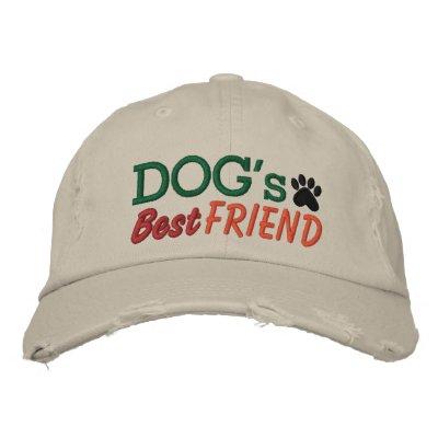 El mejor amigo del perro por SRF Gorra De Beisbol