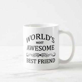 El mejor amigo más impresionante del mundo tazas
