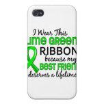 El mejor amigo merece linfoma del curso de la vida iPhone 4/4S carcasas