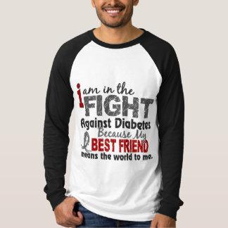 El mejor amigo significa el mundo a mí diabetes playera