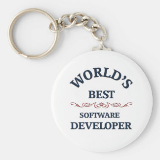 El mejor analista de programas informáticos del mu llavero personalizado