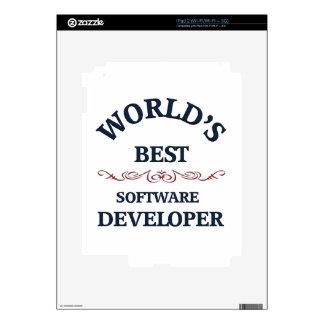El mejor analista de programas informáticos del mu iPad 2 calcomanía