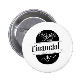 El mejor analista financiero del mundo pin