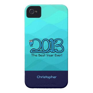 ¡El mejor año nunca! Caso 2013 del iPhone 4/4S de  iPhone 4 Protector