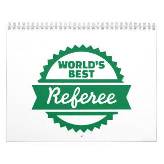 El mejor árbitro del mundo calendarios