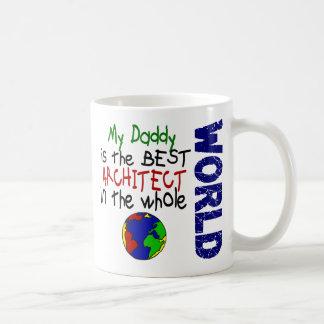 El mejor arquitecto en el mundo 2 (papá) tazas de café