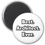 El mejor. Arquitecto. Nunca Imán De Frigorifico