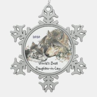 El mejor arte de Cubs de lobo de la nuera del mund Adornos