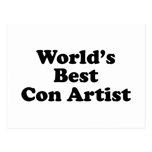 El mejor artista de las estafas del mundo postales