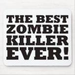 El mejor asesino del zombi nunca tapete de ratón