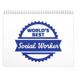 El mejor asistente social del mundo calendario