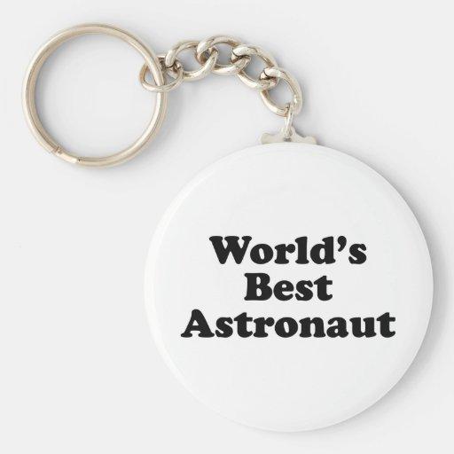 El mejor astronauta del mundo llavero personalizado