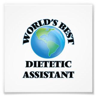 El mejor ayudante dietético del mundo impresion fotografica
