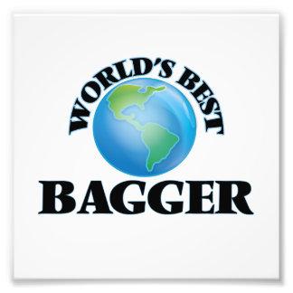 El mejor Bagger del mundo Impresion Fotografica