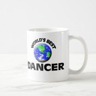 El mejor bailarín del mundo taza básica blanca