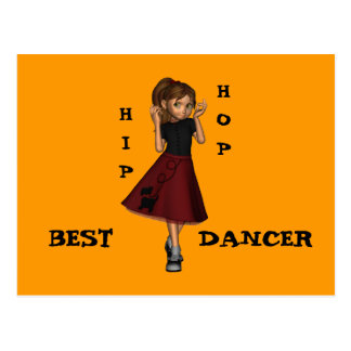 El mejor bailarín postal