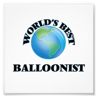 El mejor Balloonist del mundo Fotos