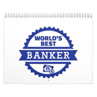 El mejor banquero del mundo calendario