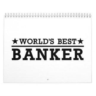 El mejor banquero del mundo calendarios de pared