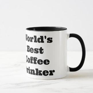 El mejor bebedor del café del mundo taza