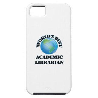 El mejor bibliotecario académico del mundo iPhone 5 carcasas