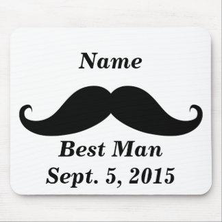El mejor bigote Mousepad del hombre