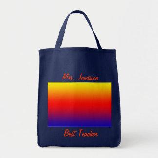 El mejor bolso de la lona del profesor, aprecio, g bolsas de mano