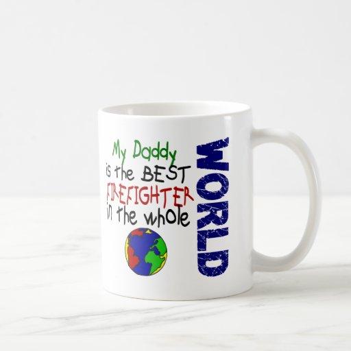 El mejor bombero en el mundo 2 (papá) taza de café