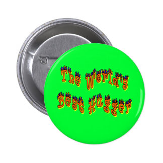El mejor botón de Hugger del mundo Pins