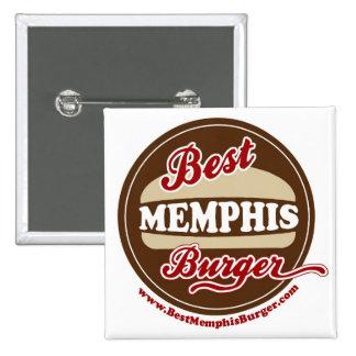 El mejor botón de la hamburguesa de Memphis Pin
