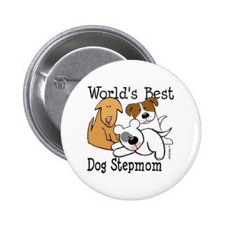 El mejor botón de la madrastra del perro del mundo pins