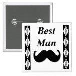 El mejor botón del bigote del hombre - escoja su p pins