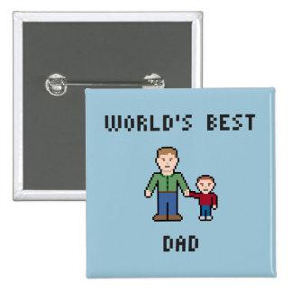 El mejor botón del papá del mundo