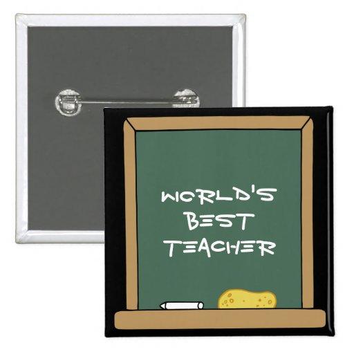 El mejor botón del profesor del mundo