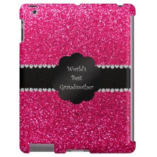 El mejor brillo del rosa de la abuela del mundo funda para iPad