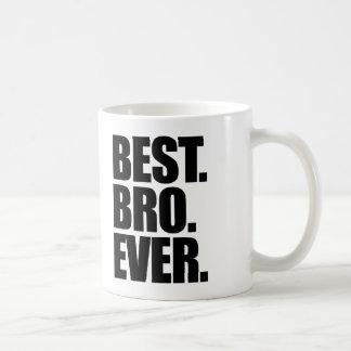 El mejor Bro nunca Tazas De Café
