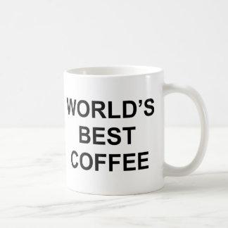 El mejor café del mundo tazas de café