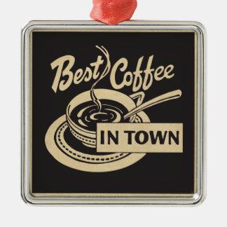 El mejor café en ciudad adorno