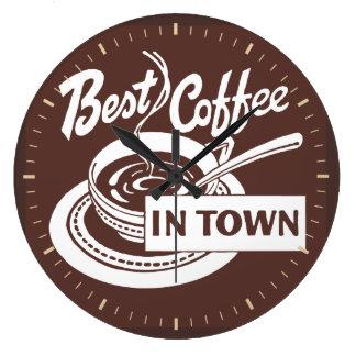 """El """"mejor café en reloj de pared de la tienda de"""