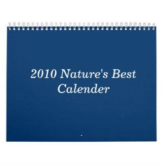 El mejor calendario 2010 de la naturaleza